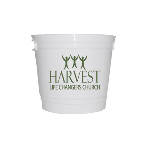 8 Quot W Printed Church Offering Bucket Clevenger Printing