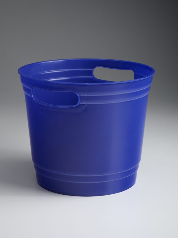 Blue Offering Bucket With Handles