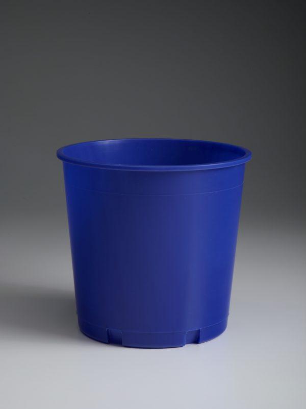 Blank Blue Offering Bucket