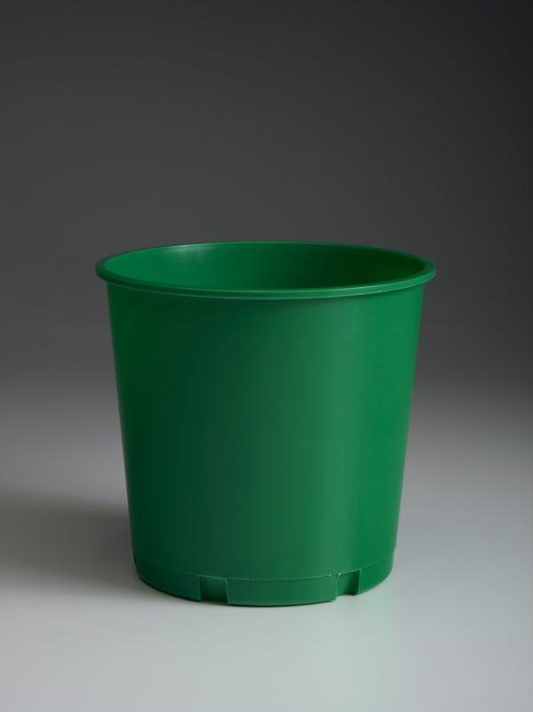 Blank Green Offering Bucket