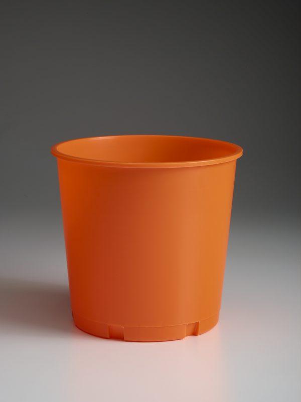 Blank Orange Church Offering Bucket