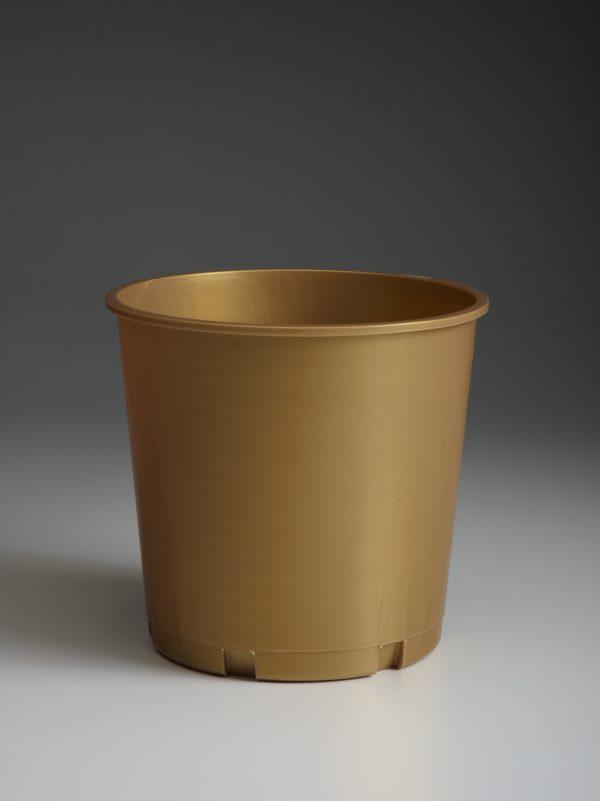 Gold Church Offering Bucket
