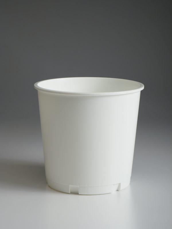White Blank Offering Bucket