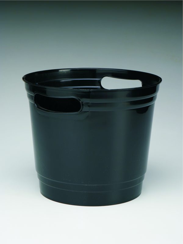 Black Offering Bucket With Handles