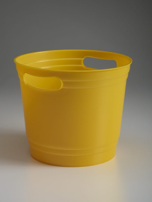 Gold Offering Bucket With Handles