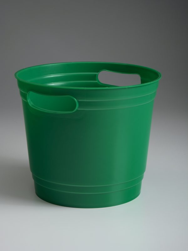 Green Offering Bucket With Handles