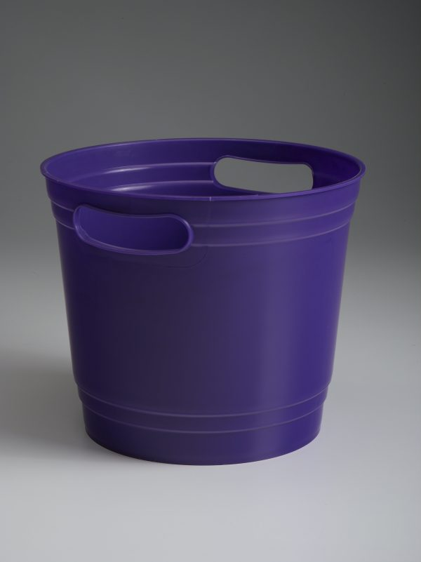Purple Offering Bucket With Handles