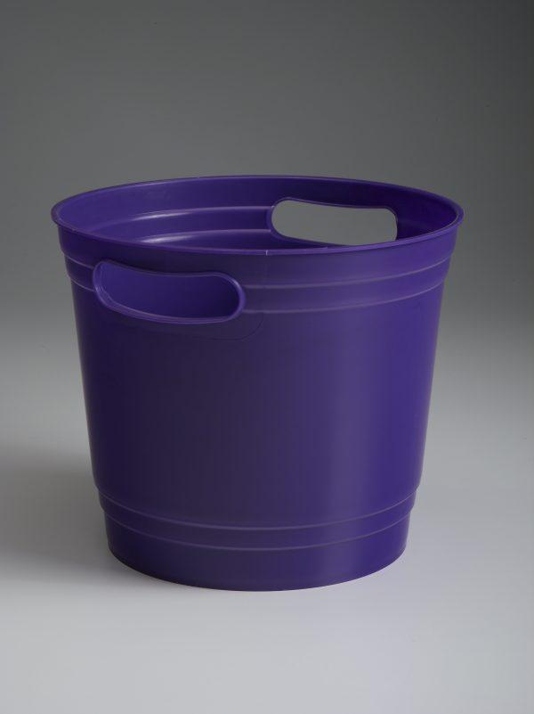 Purple Offering Bucket With Handles