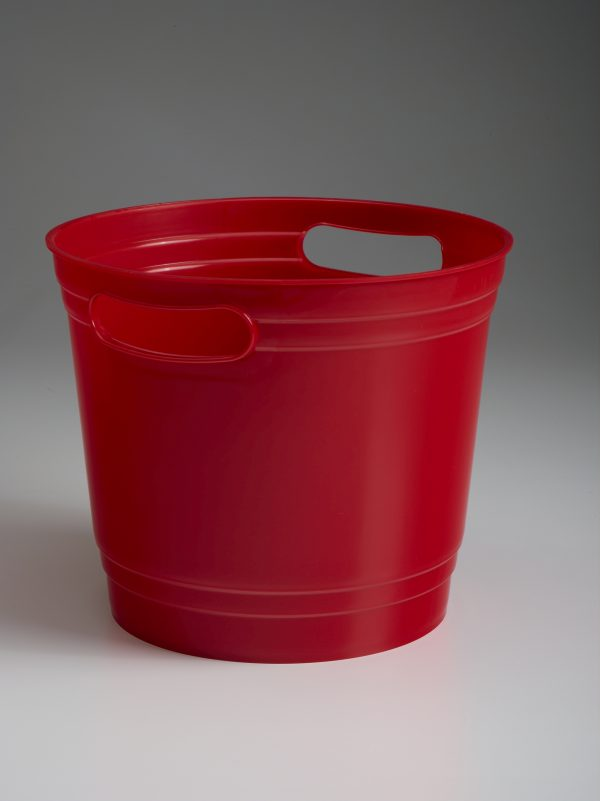Red Offering Bucket With Handles